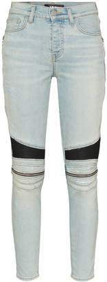 Amiri MX2 zipped skinny Jeans