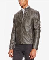 Kenneth Cole Reaction Men's Faux Leather Moto Jacket