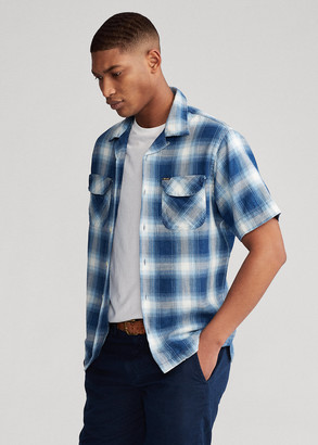 Ralph Lauren Classic Fit Indigo Plaid Shirt