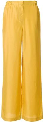 Alberta Ferretti High-Waist Flared Trousers