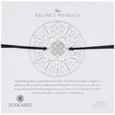 Dogeared Balance Mandala Center Circle Silk Bracelet