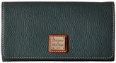 Dooney & Bourke Pebble Leather Daphne Crossbody Wallet