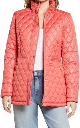 Via Spiga Water Resistant Quilted Jacket
