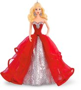Hallmark Holiday Barbie Ornament 2015