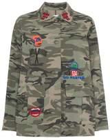Sjyp Camouflage Print Jacket