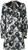 Marc Jacobs floral print dress - women - Silk/Polyester/Rayon - 4