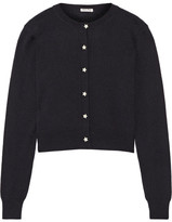 Miu Miu Cashmere Cardigan - Midnight blue