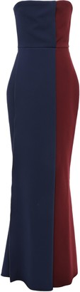 Victoria Beckham Strapless Stretch-crepe Gown