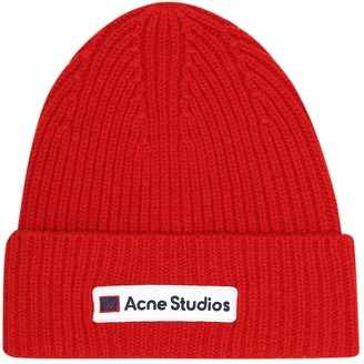 Acne Studios Face wool beanie