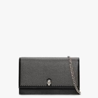 Alexander McQueen Medium Skull Black Shoulder Bag