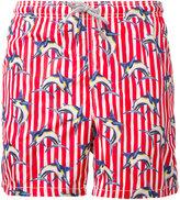 MC2 Saint Barth printed swim shorts - men - Polyamide/Polyester/Spandex/Elastane - L
