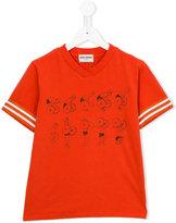 Bobo Choses Weightlifting T-shirt - kids - Organic Cotton - 6 yrs