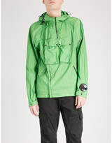 C.P. Company Goggle-detail hooded shell jacket