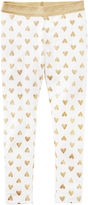 Carter's Solid Cotton Leggings - Preschool