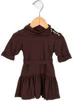 Helena Girls' Belted Drop Waist Dress