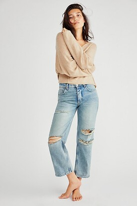 Lucia Low-Rise Ankle Crop Jeans