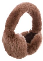 Glamour Puss Glamourpuss Brown Fur Earmuffs w/ Tags
