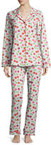 BedHead Sweet Cherry Printed Classic Pajama Set