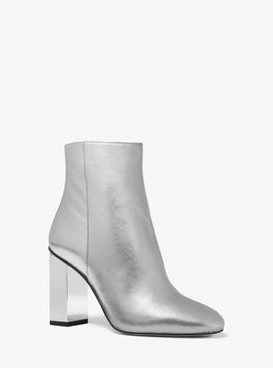 MICHAEL Michael Kors Petra Metallic Leather Boot