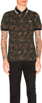 Fred Perry Camoflauge Pique Polo