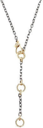 Vintage La Rose Multi Clasp Chain in Sterling Silver and 14k Gold