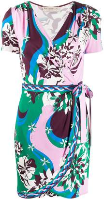 Emilio Pucci Vahine print wrap dress