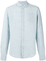 Woolrich denim shirt - men - Linen/Flax - L