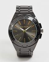Steve Madden mens bracelet watch in black