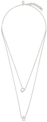 MM6 MAISON MARGIELA diamond drop necklace