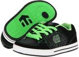 Etnies Ronin 2 (Toddler/Little Kid/Big Kid) (Black/Lime 2) - Footwear