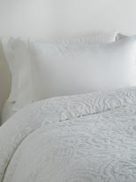 Belle Epoque Semi-Sheer Chenille Paisley Coverlette