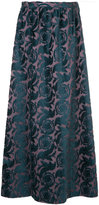 Undercover floral jacquard maxi skirt