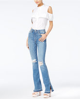 Joe's Jeans Midge High-Rise Micro Flared Jeans