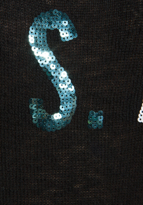 Wildfox Couture White Label Team USA Sequin Sweater