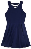 Sally Miller Girls' Harper Lace-Up Back Dress - Big Kid