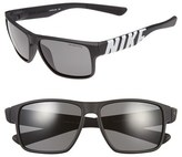 Nike Women's 'Mojo' 59Mm Sunglasses - Matte Black/ Volt