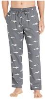 Southern Tide Shark Print Lounge Pants (Polarized Grey) Men's Pajama