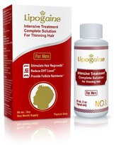 Lipogaine for Men: Intensive Treatment & Complete Solution for Hair Loss / Thinning (2 oz)
