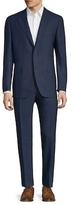 Canali Notch Lapel Solid Suit