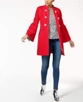 INC International Concepts I.n.c. Bell-Sleeve Ponte-Knit Coat, Created for Macy's