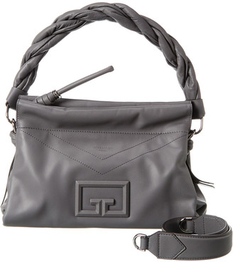 Givenchy Id93 Medium Zip Leather Shoulder Bag