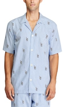 Polo Ralph Lauren Men's Relaxed-Fit Pajama Shirt
