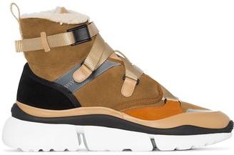 Chloé Sonnie high-top sneakers