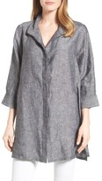 Foxcroft Women's Chambray Linen Tunic