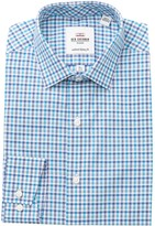 Ben Sherman Checkered Tailored Skinny Fit Dress Shirt