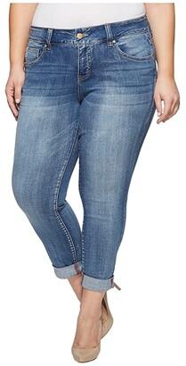 Jag Jeans Plus Size Carter Girlfriend Jeans (Mid Vintage) Women's Jeans