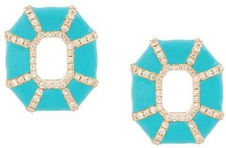 Nevernot Embellished Geometric Earrings