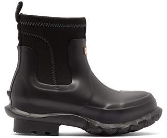 Stella McCartney X Hunter Rubber Rain Boots - Womens - Black