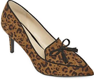 Liz Claiborne Womens Athea Pumps Pointed Toe Spike Heel