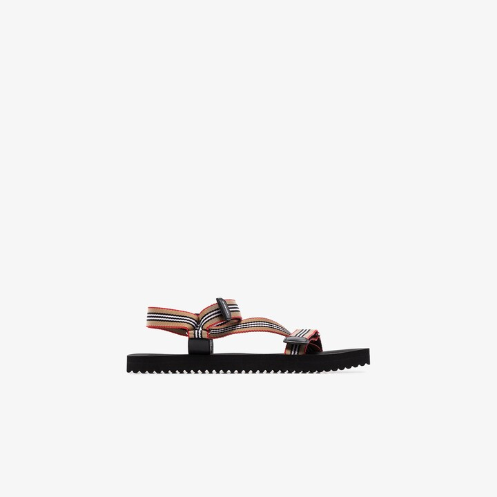 Burberry Icon Stripe sandals